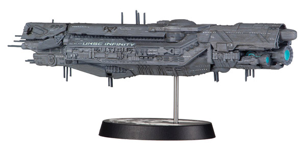 Halo UNSC Inifinity Ship Replica Model