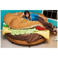 Hamburger Custom Bed