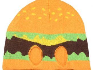 Hamburger Knit Half Mask
