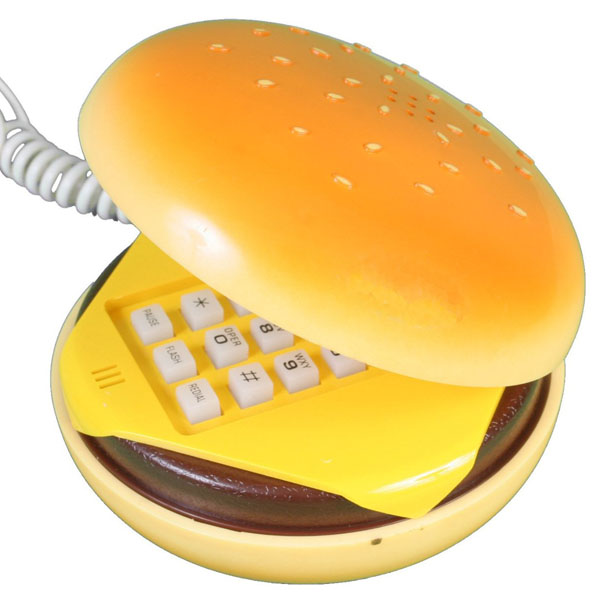 Hamburger Retro Phone