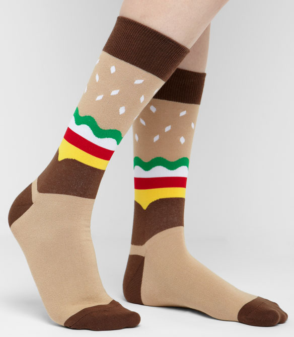 Hamburger Socks