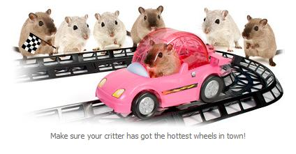 Hamster Car Set