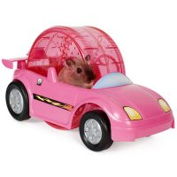 Hamster Racer Set With Wheel