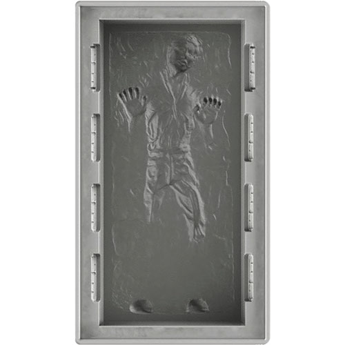 Han Solo In Carbonite Deluxe 10 Silicone Mold