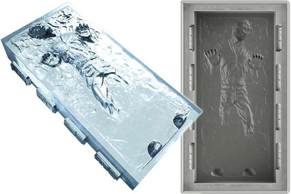 Han Solo in Carbonite Large Silicone Mold