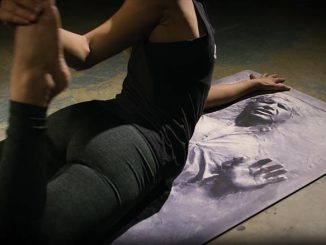 Han Solo Carbonite Yoga Mat