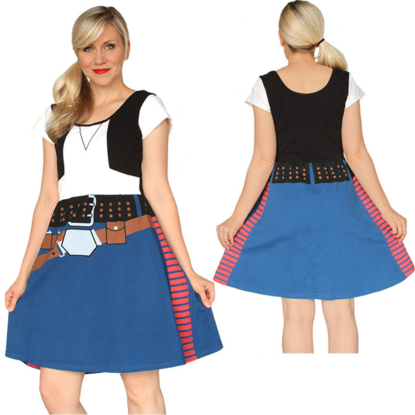 Han Solo Costume Dress