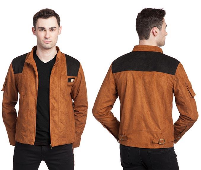 Han Solo Faux Suede Replica Jacket