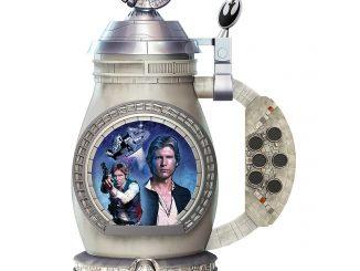 Han Solo Millennium Falcon Porcelain Stein