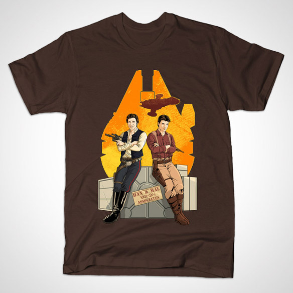 Han Solo and Captain Malcolm Reynolds Partners in Crime Shirt