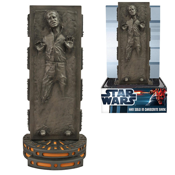 Han Solo in Carbonite Bank