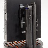 Han Solo in Carbonite Life-Size Figure Back