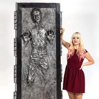 Han Solo in Carbonite Life-Size Figure Featured