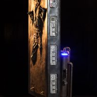 Han Solo in Carbonite Life-Size Figure Side
