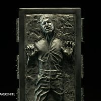 Han Solo in Carbonite Sixth Scale Figure Front Detail