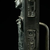 Han Solo in Carbonite Sixth Scale Figure Side Detail