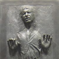 Han Solo in Carbonite Wall Decal