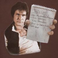 Han To-Do List T-Shirt