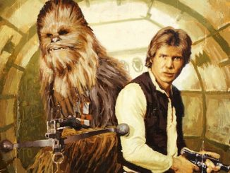 Han and Chewie by Christopher Clark Giclee
