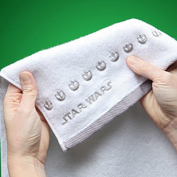 Han and Leia Bathroom Hand Towels