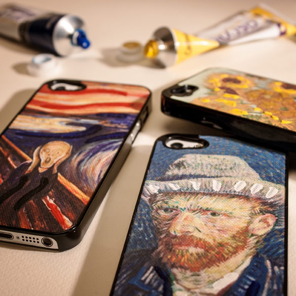 Hand Painted Canvas iPhone 5 Cases