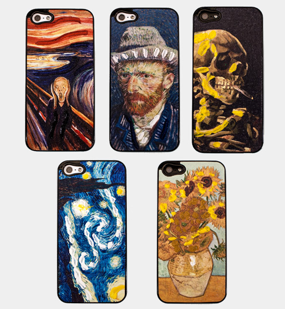 Hand-Painted iPhone 5 Canvas Cases
