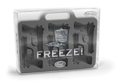 Handgun Shaped Ice-Cube Tray
