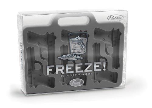 Handgun Shaped Ice-Cube Tray