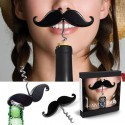 Handlebar Mustache Wine Corkscrew and Bottle Opener