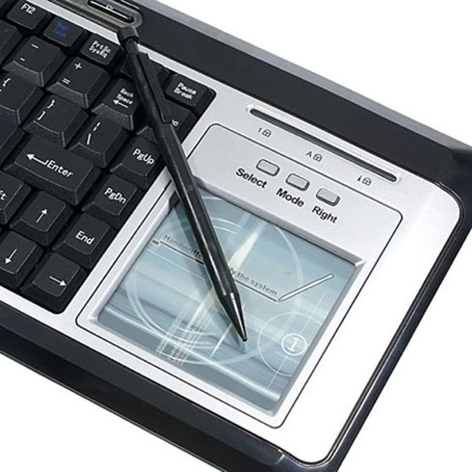 keyboard that reads handwriting geekalerts. Black Bedroom Furniture Sets. Home Design Ideas