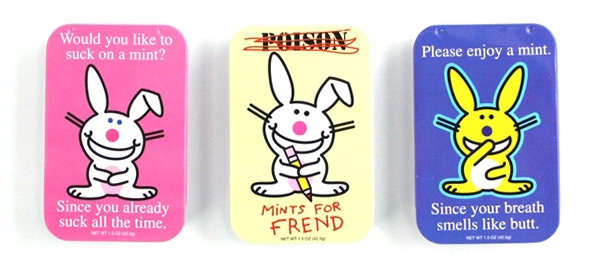 Happy Bunny Mint Tins