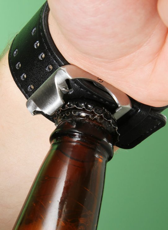 Happy Hour Bottle Opener Watch
