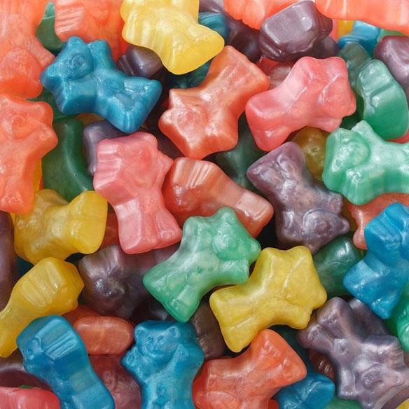 Haribo Gummi Candy Techno Bears