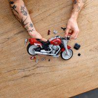 Harley-Davidson Fat Boy LEGO Set