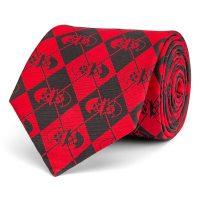 Harley Quinn & Batman Argyle Silk Tie
