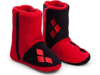 Harley Quinn Boot Slippers