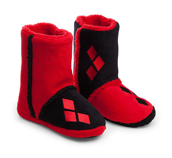 Harley Quinn Boot Slippers