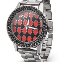 Harley Quinn Checkered Print Watch
