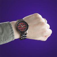 Harley Quinn Checkered Print Watch
