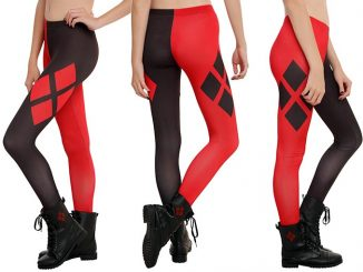 Harley Quinn Cosplay Leggings