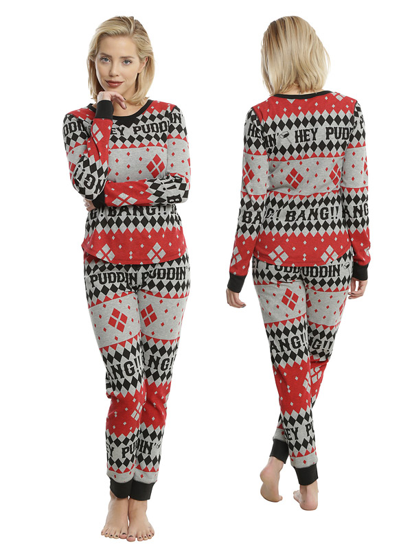 harley-quinn-girls-thermal-sleep-set