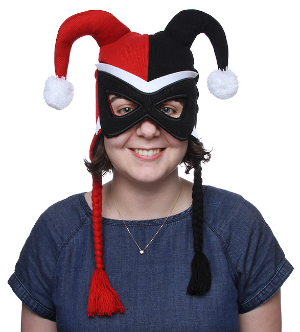 Harley Quinn Peruvian Mask Hat