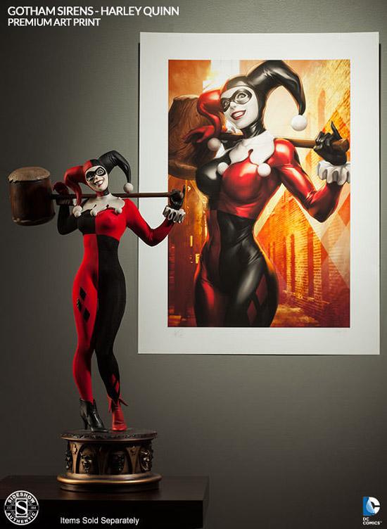 Harley Quinn Premium Art Print