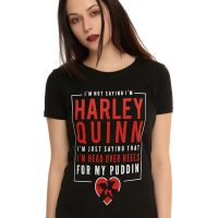 Harley Quinn Puddin Girls T-Shirt