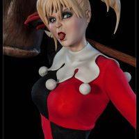 Harley Quinn Sideshow Exclusive Edition Premium Format Figure