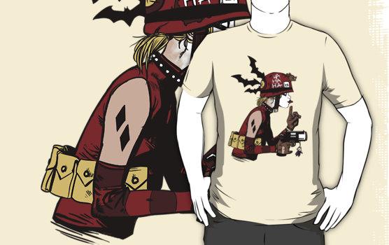 Harley Quinn Tank Girl Shirt