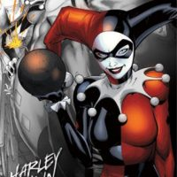 Harley Quinn The Bomb Art Print Poster