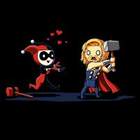 Harley Quinn Thor Mad Love T-Shirt