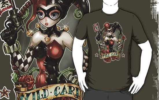 Harley Quinn Wildcard Shirt