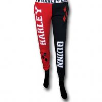 Harley Quinn Womens French Terry Pajama Pants